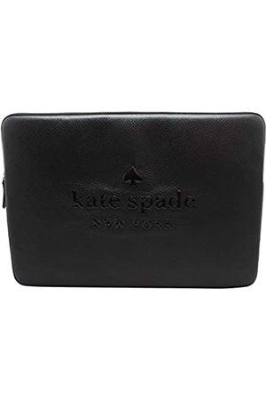 "Kate Spade Kate Spade Sienne Logo Leather Laptop Sleeve Case Black (Up to 15"")"