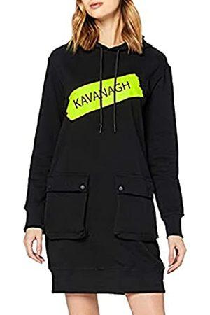 Gianni Kavanagh Damen Freizeitkleider - Damen Black Brooklyn Hoodie Dress Lässiges Kleid