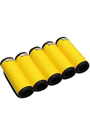Gowraps Neopren-Koffergriffbandagen für Reisen, helle Farbe, Gepäckanhänger