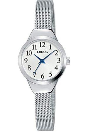 Lorus Klassik Damen-Uhr mit Palladiumauflage und Metallband RG223PX9