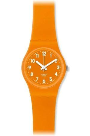 Swatch Damen Uhren - Damen-Armbanduhr XS Analog Quarz Plastik LO104