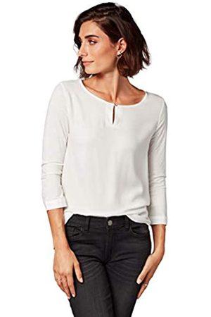 TOM TAILOR Damen Femines 3/4 Arm Shirt Langarmshirt