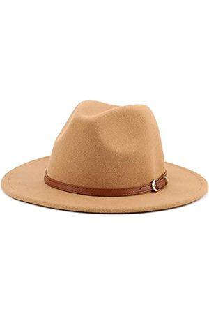 Melesh Fedora-Hut mit breiter Krempe, unisex