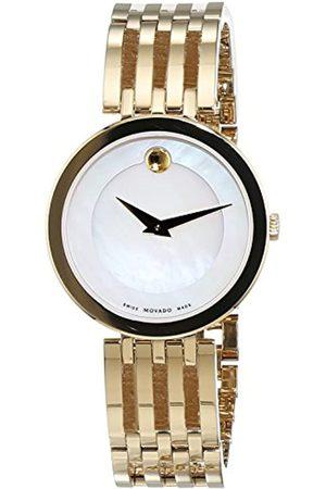 Movado Damen Uhren - DamenDatumklassischQuarzUhrmitEdelstahlArmband607054