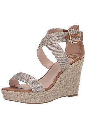 Fergie Maxi-Sandale mit Riemen für Damen, Beige (champagnerfarben)