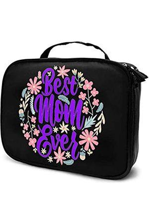 YIEASY Koffer - Flamingo Rose Kosmetiktasche, tragbare Kulturtasche, Künstler-Aufbewahrungstasche, wiederverwendbar, Make-up-Kosmetikkoffer mit vielen Taschen für Schmuck, Toilettenartikel, Pinsel, digitales Zubehör, 24,8 x 8,9 x 19