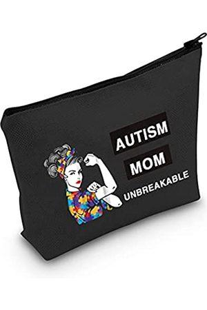 LEVLO Autismus-Mom-Kosmetiktasche für Autismus-Bewusstsein und Mutter-Geschenk, unzerbrechlich