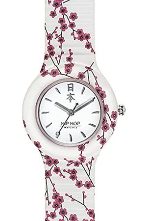 Hip Watches - Damen Armbanduhr HWU0864 - I Love Japan Kollektion - Silikonarmband - 32mm Gehäuse - wasserdicht - Quarzwerk
