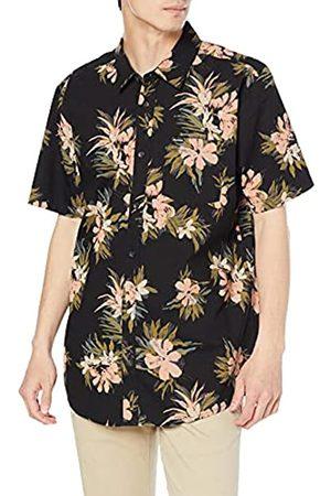Volcom Herren Floral with Cheese Short Sleeve Shirt Hemd mit Button-Down-Kragen