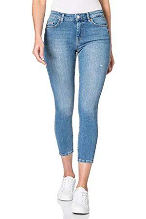 ONLY Damen ONLHUSH Life MID SK ANK DOT473 Jeans
