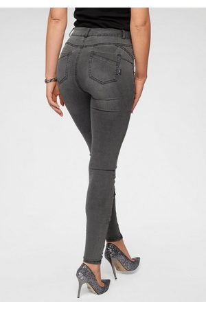 Arizona Skinny-fit-Jeans »Ultra Stretch« High Waist mit Shapingnähten