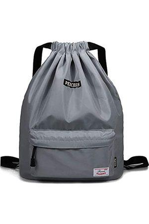 Peicees Wasserdichte Sporttasche mit Kordelzug, leicht