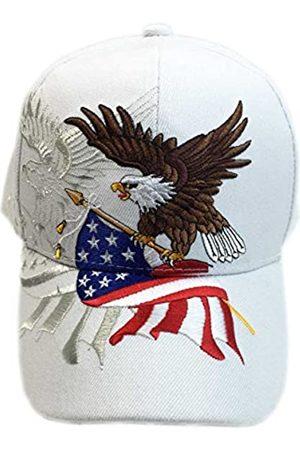 aesthetinc Patriotische amerikanische Flagge Design Baseball Cap USA 3D Stickerei - - Einheitsgröße