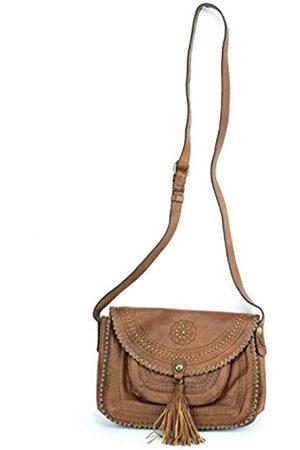 Patricia Nash Italian Leather Beaumont Flap Messenger Crossbody Bag Purse Handbag