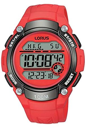 Lorus SportDamen-UhrChronographEdelstahlundKunststoffmitUrethanbandR2343MX9