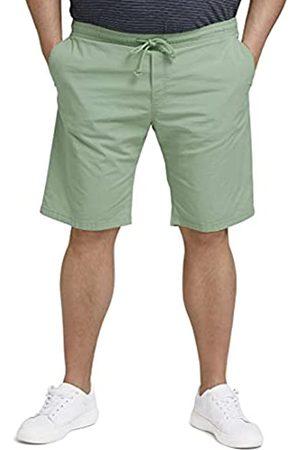 TOM TAILOR Herren 1027887 Plussize Lightweight Bermuda Shorts, 19764-Light Mint Green