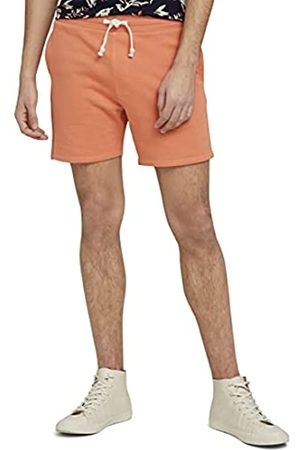 TOM TAILOR Herren 1026108 Sweatpants Bermuda Shorts, 26184- Lobster