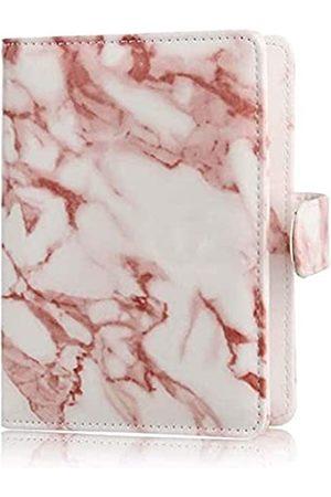 Wallace Elec Reisetaschen - Reisepasshülle, mit Glitzer-Design, Premium-PU-Leder außen + innen Reisepasshalter