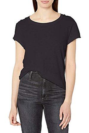 MICHAEL STARS Damen Supima Cotton slub Crew Neck Tee T-Shirt