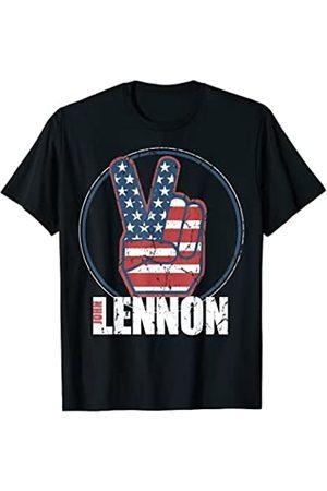 John Lennon Red, White
