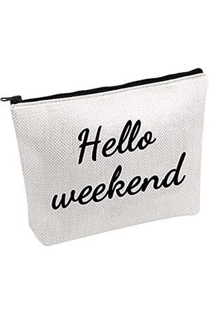 JXGZSO Hello Weekend Kosmetiktasche