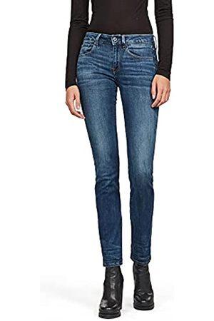 G-Star Damen 3301 Deconstructed Mid Waist Straight' Jeans