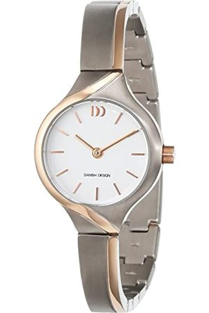 Danish Design Damen Uhren - Damen-Armbanduhr Analog Quarz Titan 3326608