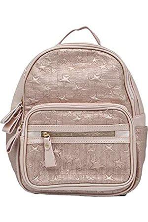 Ecstacy Damen Taschen - Damen Rucksack Geldbörse PU Leder Fashion Groß & Klein Reisetasche Casual oder Luxuriöse Damen Umhängetasche, Beige (rose )