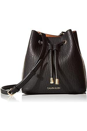 Calvin Klein Damen Gabrianna Novelty Mini Bucket Crossbody