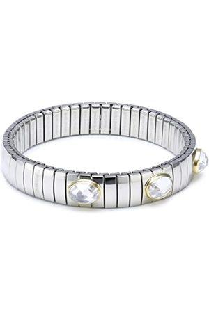 Nomination Damen-ArmbandMittel18-K-Gold3FacettiertenZirkonenWeiß042523/010
