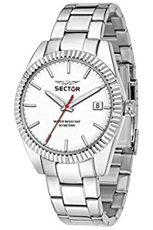 Sector No Limits Herren Analog Quartz Uhr mit Stainless Steel Armband R3253240012