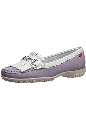 Marc Joseph New York Damen Leder Made in Brazil Lexington Golfschuh, (Lavendel-Körnchen)