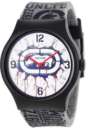 Marc Ecko Damen Datum klassisch Quarz Uhr mit Harz Armband E06510M1