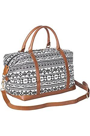 seyfocnia Handtaschen für Damen, Schultertasche, Reißverschluss, Geldbörse, Segeltuch