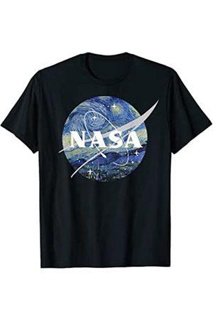 Nasa Starry Night Classic Chevron Logo Graphic T-Shirt