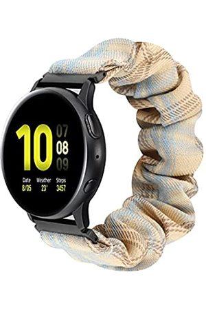 NEWLOTSE Haarband + elastisches Armband, kompatibel mit Samsung Galaxy Active 2/Galaxy Watch Active/Galaxy Watch 3 (41 mm)