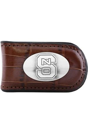 ZEP-PRO NCAA North Carolina State Wolfpack Krokodilleder-Magnet Concho Geldklammer Tan