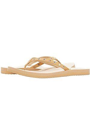 Sanük Damen Yoga Joy Bling Flip Flop, (champagnerfarben)