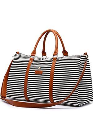 Cestina Damen-Reisetasche aus Segeltuch, für Wochenendausflüge, Reisetasche