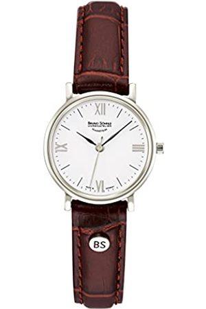 Soehnle Bruno Söhnle Damen Analog Quarz Uhr mit Leder Armband 17-13045-971