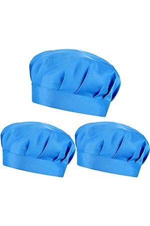 SATINIOR 3 Stücke Schrruben Hut Bouffant Kappe Verstellbare Bouffant Turban Kappe für Frauen Männer