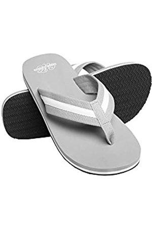 Urban classics Unisex-Erwachsene Beach Slippers Slipper, (Grey/White 00132)