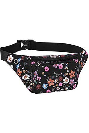 KAMO Bauchtasche, Hüfttasche, Schulterrucksack, wasserabweisend, strapazierfähiges Polyester, klein, für den Außenbereich, leicht, Crossbody-Tagesrucksack für Damen, Herren, Damen, Mädchen