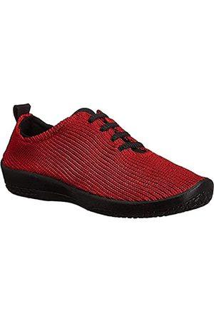 Arcopedico Womens LS 1151 Red Fabric Shoes 38 EU
