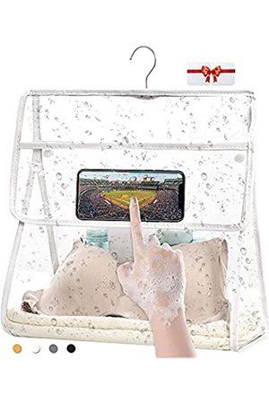 BRIVILAS Reisetaschen - Transparente Kulturbeutel, groß, wasserdicht, für Badezimmer, Dusche, Wandaufhängung