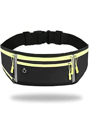 URIKAS Herren Sporttaschen - Laufgürtel für Damen und Herren, Gürteltasche für Apple iPhone, Samsung Note Galaxy, verstellbare Lauftasche, Handyhalterung zum Laufen