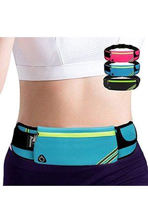AIKENDO Laufgürtel, Hüfttasche, Workout-Ausrüstung, Fitness-Fanny Pack für Handy, Handy-Halterung zum Laufen, Joggen, Tasche für Damen und Herren, Laufzubehör für iPhone 11 XS Max