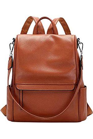 ALTOSY Rucksack aus echtem Leder für Damen, umwandelbar, Anti-Diebstahl-Rucksack