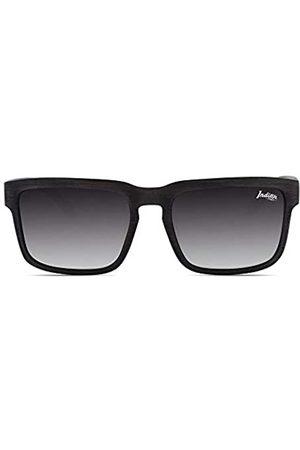 THE INDIAN FACE Unisex-Erwachsene Polar Sonnenbrille, Wood/Black
