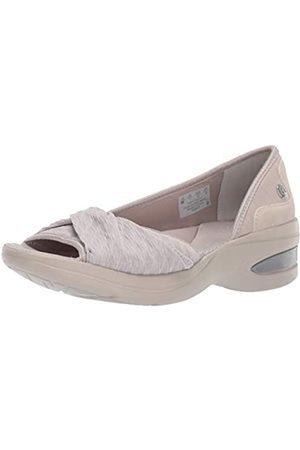 Bzees Damen Halbschuhe - Damen Remix Sneaker, - Silver Cloud